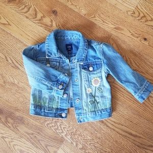 Baby Gap girls jean jacket